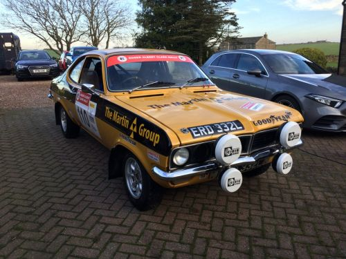 Vauxhall Firenza Historic Stage Rally Car