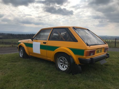Talbot Sunbeam Rally Car