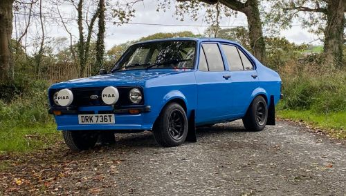 Ford Escort Mk2 Road and Stage Car Rental-Hire
