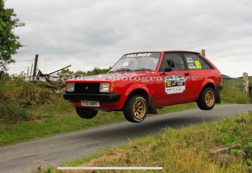 Talbot Sunbeam Modified Rally Car