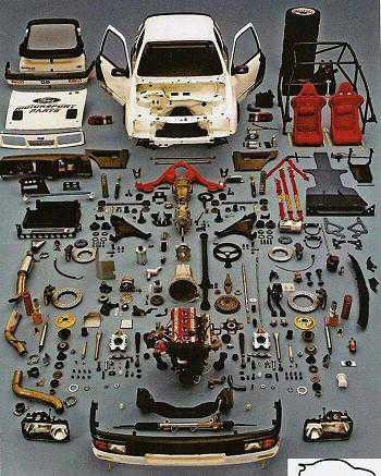 Historic Cosworth Sierra 909 Parts Package