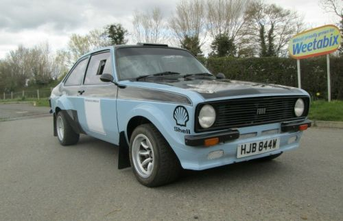Escort Rally Car Ex Alistair McRae px BDG Escort