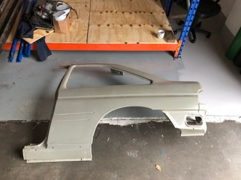 Escort Cosworth New LH rear 1/4 panel