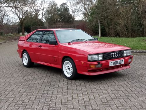 AUDI QUATTRO 10V UK-supplied, 10 valve