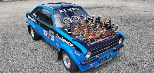 Escort 2.4L Holbay Mk2 rally car (free shipping)
