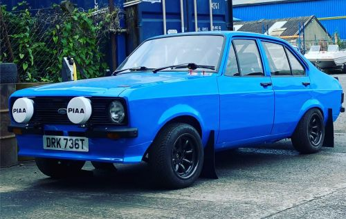 Ford Escort Mk2 Road Rally Car Rental-Hire