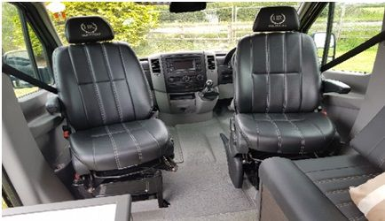 Mercedes Sprinter Race Home with matching AST Trailer