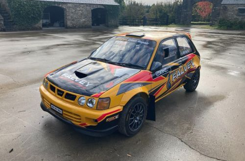 Toyota Starlet EP82 FWD Rally Car
