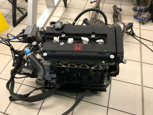 Honda B18C Forged Engine High Comp 2 Races Old