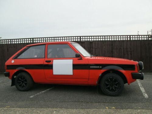 Talbot Sunbeam 1.6 Rally Car For Sale