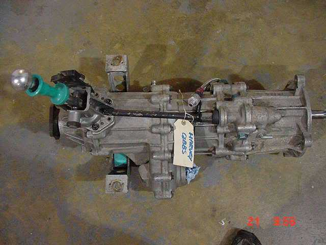 Cosworth WRC or Gp A Transmission Parts