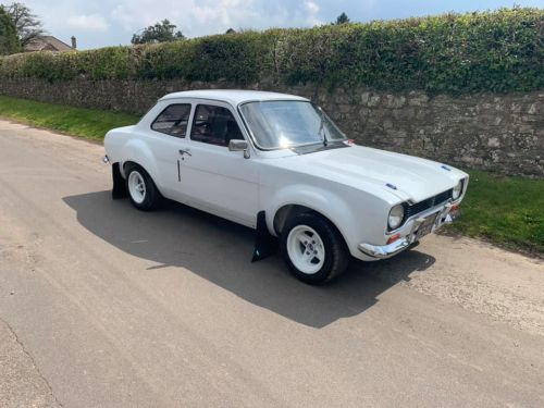 Escort Mk1 with Vauxhall 2 Litre XE