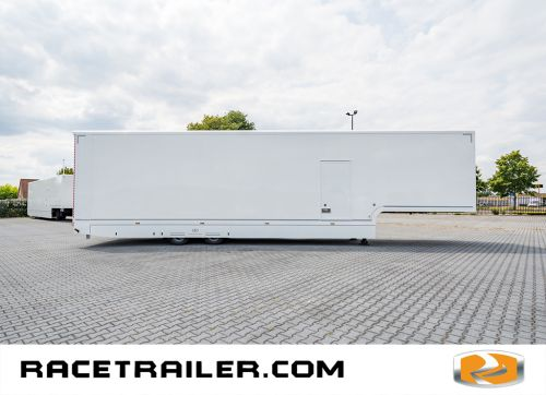 New racetrailer, double deck, 4 cars, 6 beds