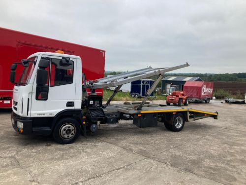 Iveco twin deck car transporter