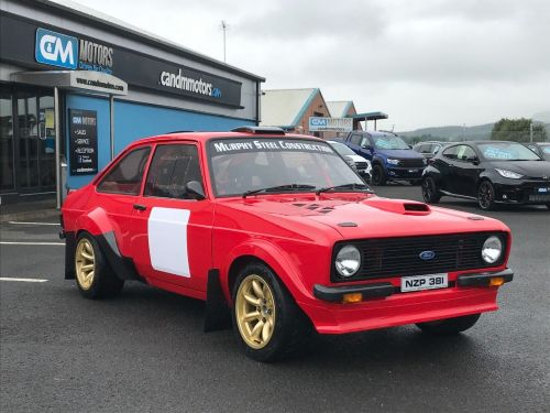 MK2 Ford Escort (Group 4 Spec) fabricated shell