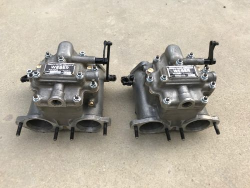 Carburetors weber 40DCO3